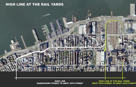 high line site plan