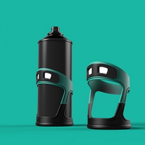 Night Graffiti: Shake-Powered LED Spray Paint Can Sleeve | Urbanist