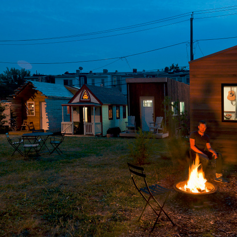 Boneyard Studios Vacant Lot Hosts New Micro Home Village