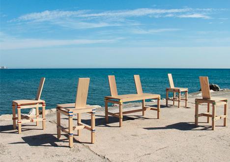 nomadic chair series