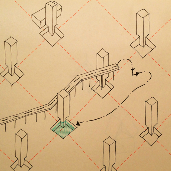 Pointless Diagrams: Daily Architectural Nonsense Drawings