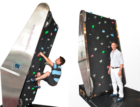 rock wall example treadmill