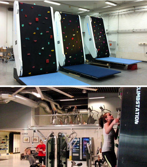 rock wall gym version