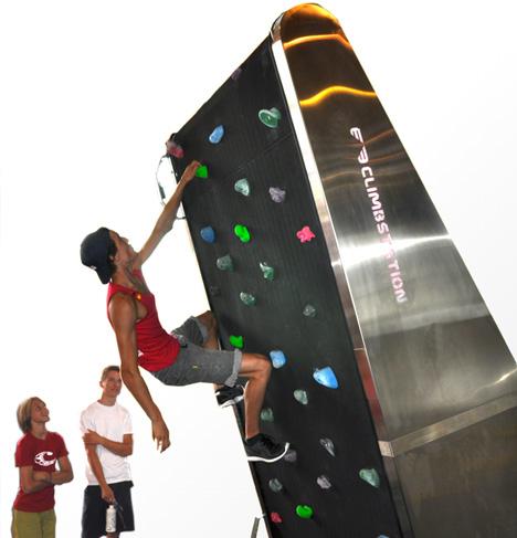 wall climber machine