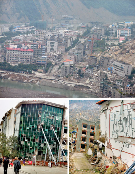 Abandoned China Beichuan Disaster City 2