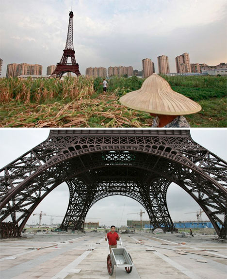 Abandoned China Paris Replica 2