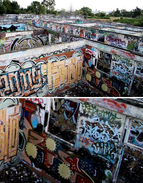 Abandoned New Zealand Christchurch Stockyards 1