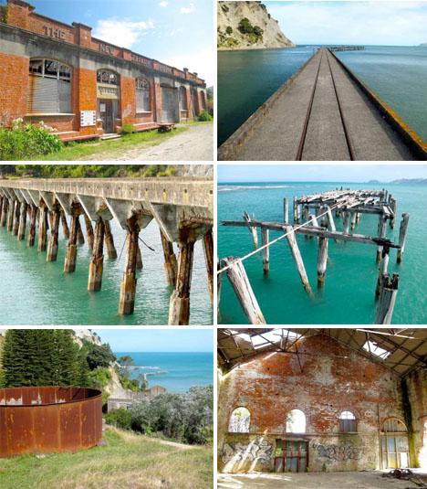Abandoned New Zealand Tokomaru Ghost Town 1