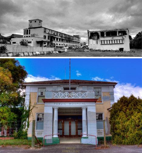 Abandoned New Zealand Waipukurau Hospital 1