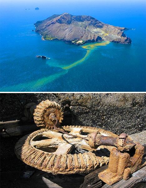 Abandoned New Zealand White Island 2