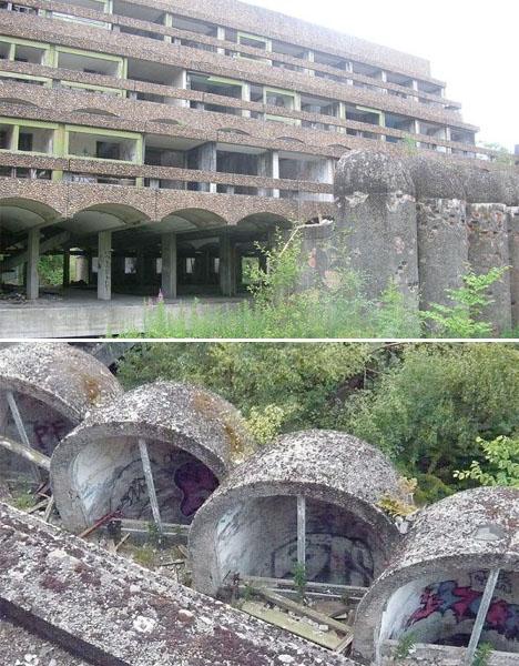 Abandoned Scotland Brutalist Seminary 1