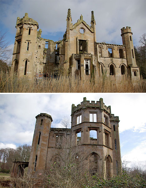 Abandoned Scotland Cambusnethan Priory 1