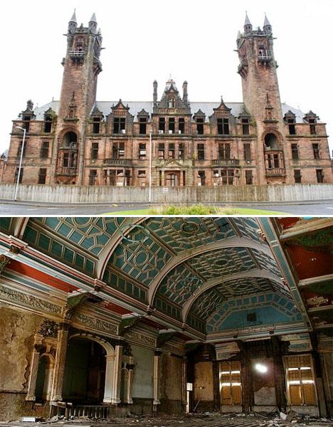 Abandoned Scotland Gartloch Insane Asylum 1