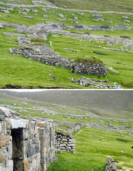 Abandoned Scotland St Kilda Ghost Town 1