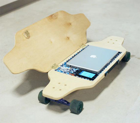 Briefskate Skateboard Storage 1