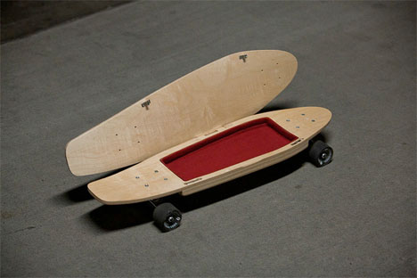 Briefskate Skateboard Storage 2