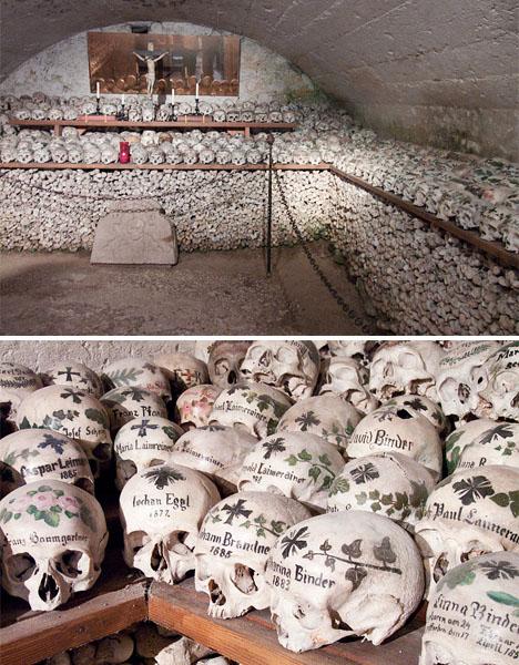 Crazy Cemeteries Hallstatt Ossuary