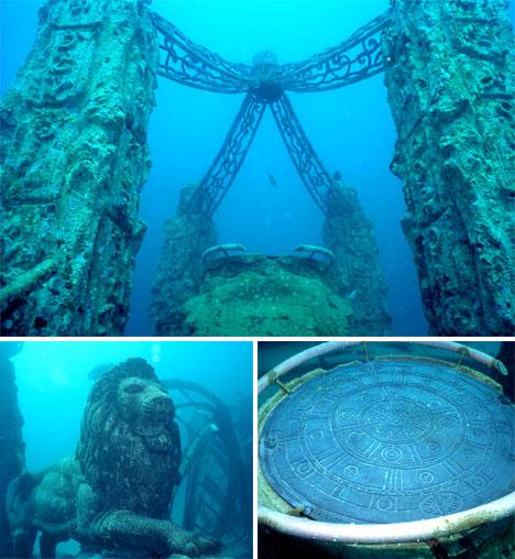 Crazy Cemeteries Neptune Memorial Reef