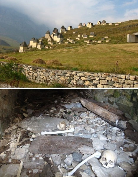 Crazy Cemeteries North Ossetia City of the Dead