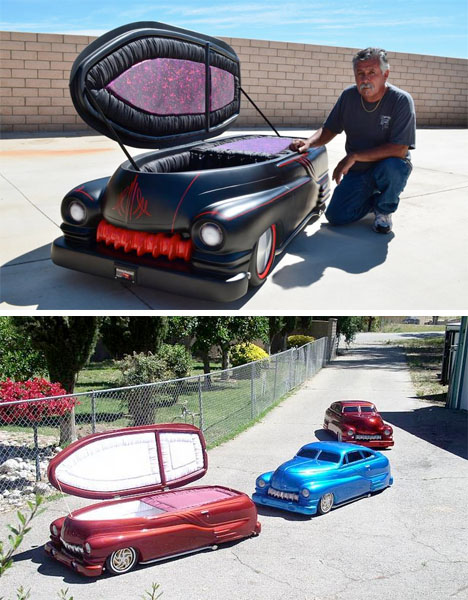 Make Your Own Car >> Bizarre Burial Boxes: 20 of the World's Weirdest Coffins | Urbanist