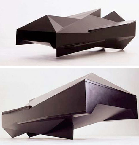 Crazy Coffins Modern Abstract 1
