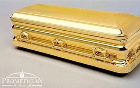Crazy Coffins Solid Gold
