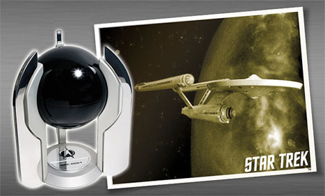 Crazy Coffins Star Trek Urn