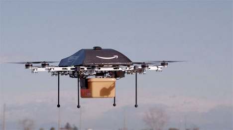 Helicopter Designs Amazon Prime Drone