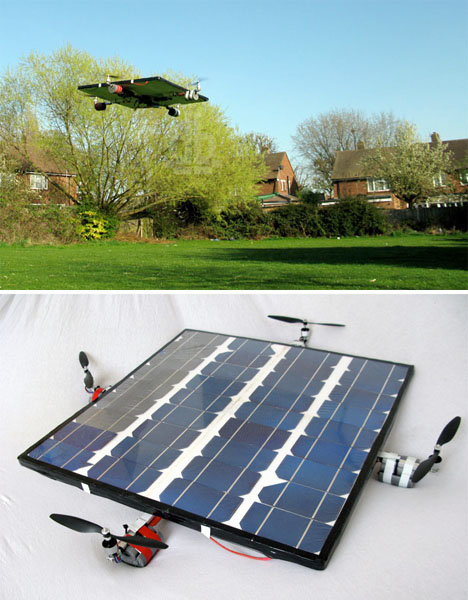 Helicopters Solar Copter