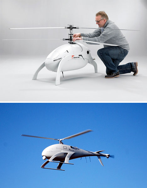Helicopters Unmanned Dolphin