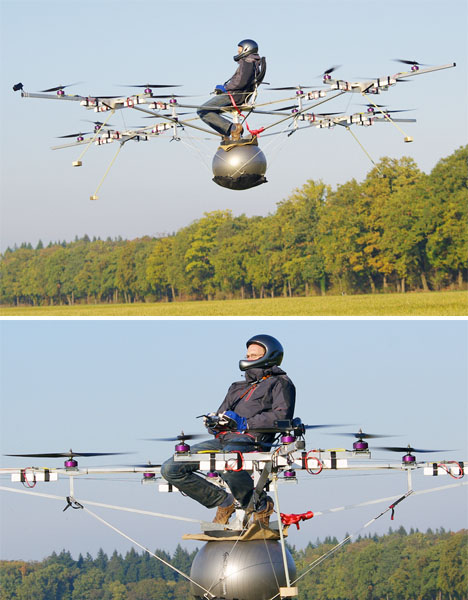 Helicopters eVolo Personal