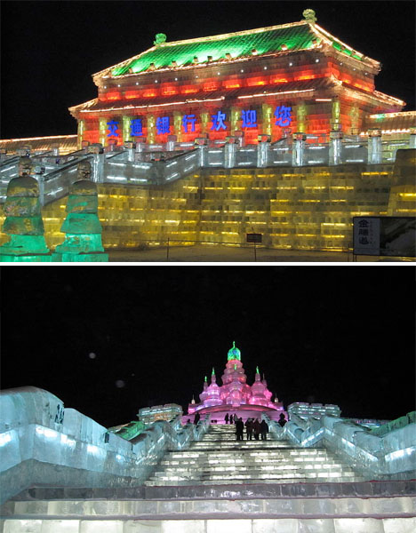 Ice Architecture Harbin China 2