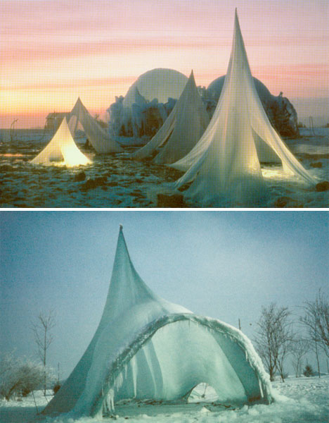Ice Architecture Heinz Isler