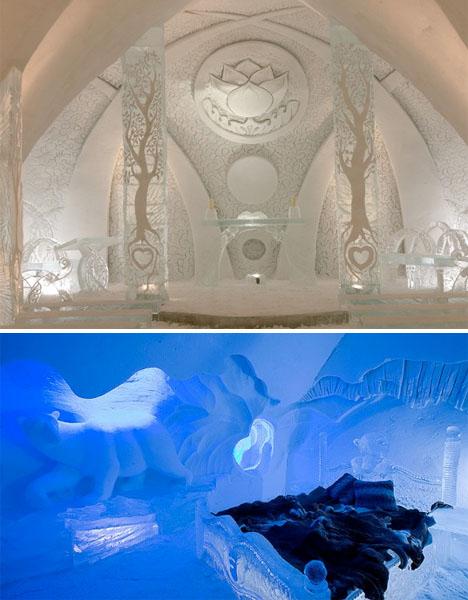 Ice Architecture Hotel de Glace 2