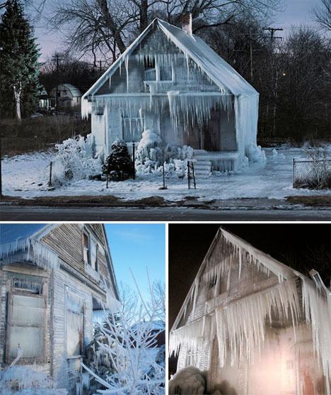 Ice Architecture Ice House Detroit