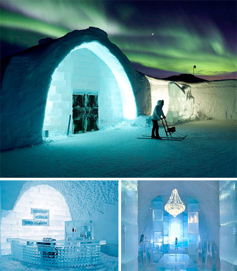 Ice Architecture IceHotel Sweden