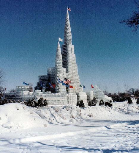 Ice Architecture Minnesota Winter Carnival 2