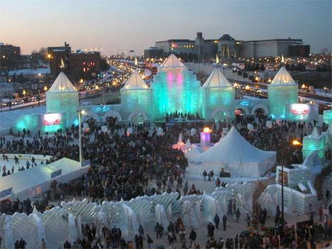Ice Architecture Minnesota Winter Carnival 3