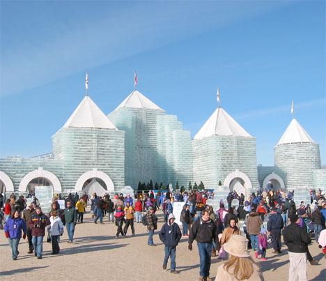 Ice Architecture Minnesota Winter Carnival