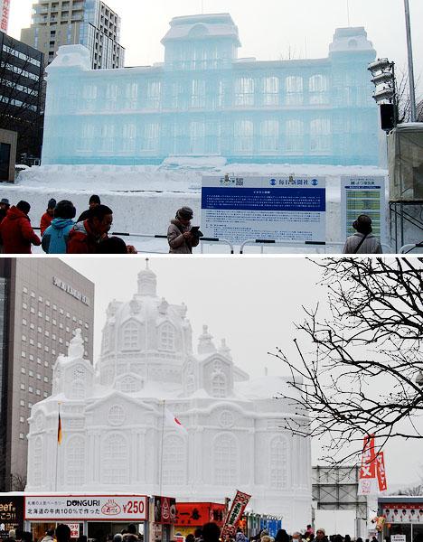 Ice Architecture Sapporo Japan 1