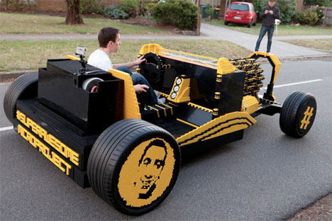 LEGO Hot Rod 1
