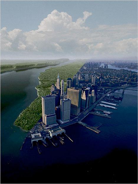 NYC Infographic Past Present