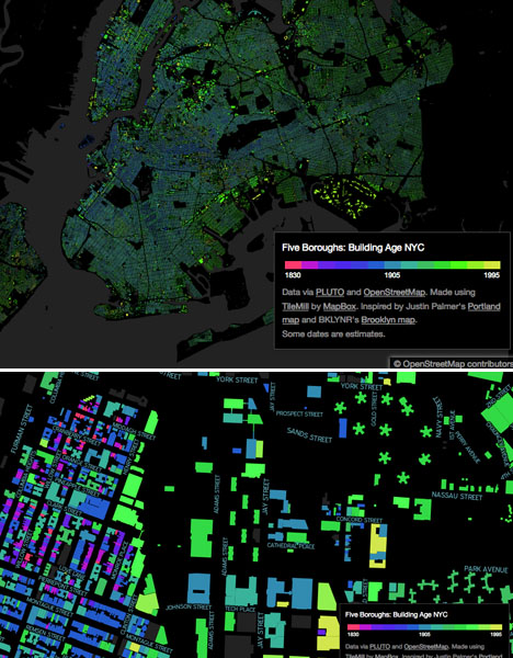 NYC Infographics Building Age