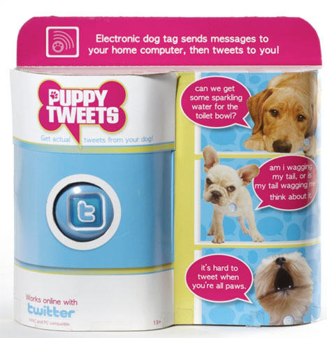 Pet Tech Puppy Tweets
