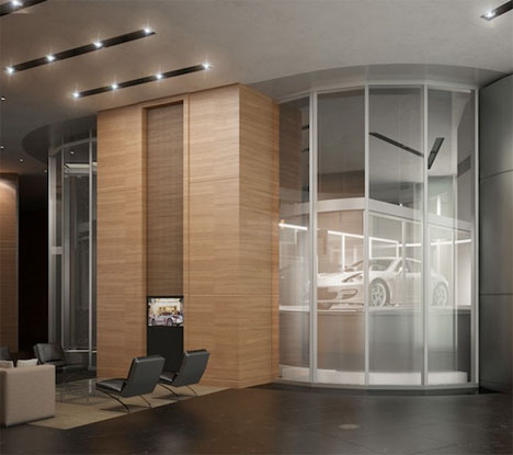Building for Billionaires: Luxury Tower with Car Elevators