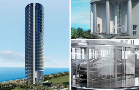 Building For Billionaires Luxury Tower With Car Elevators Urbanist