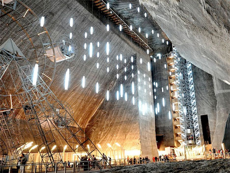 La mina de sal subterránea Museo Rumania 3