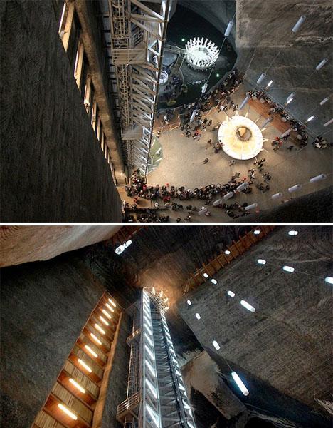 La mina de sal subterránea Museo Rumania 5