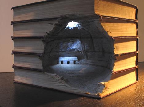 book art cave architecture