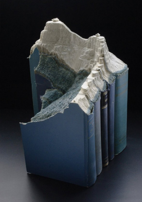 book art curved series